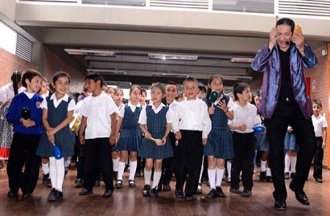 Concierto estudiantil por la paz - Foto: Prensa Secretaría de Educación / Juan Pablo Duarte