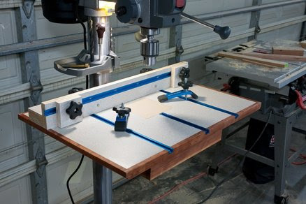 Project DIY: Woodworking plan drill press stand Details