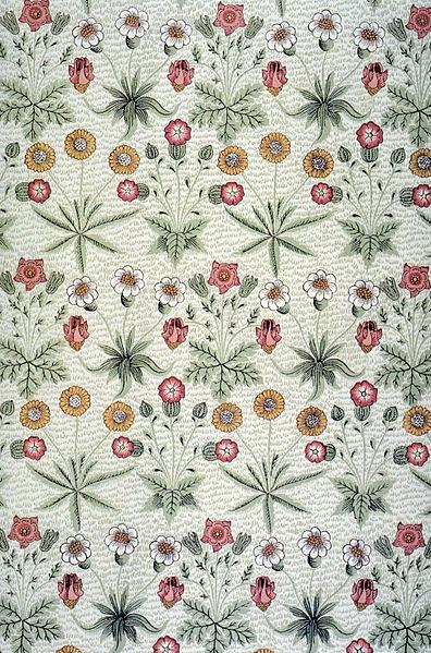 File:Morris Daisy wallpaper 1864.jpg
