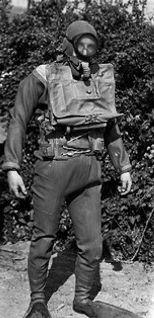 British Royal Navy 'frogman', during WW2