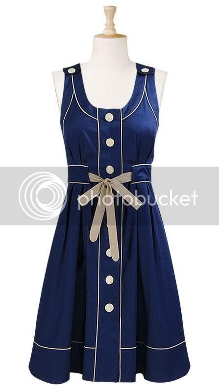 tshirt dress in blue