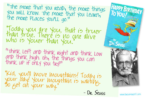 Oh The Places Youll Go Inspiration And Quotes From Dr Seuss