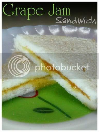 Grape Jam Sandwich