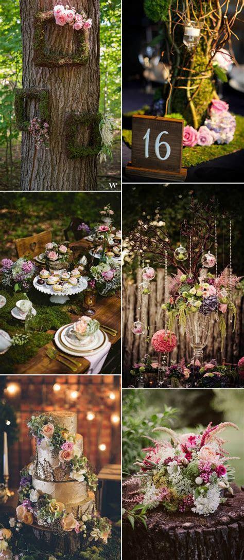 Enchanted Forest Wedding Ideas For 2017 Brides ? Stylish