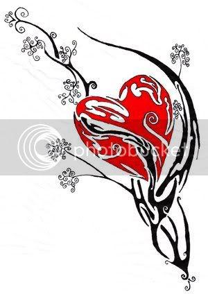 Tribal Heart Tattoos: Source url:http://profiles.friendster.com/48699915