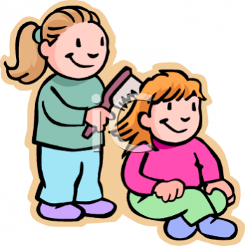 children playing clip art. This is a clipart picture of