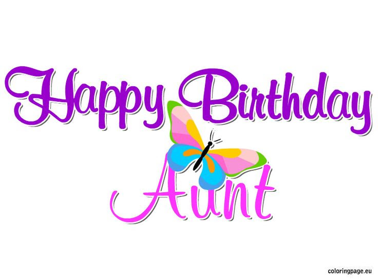 Httpanoivadofabricioblogspotcom Happy Birthday Aunt Coloring