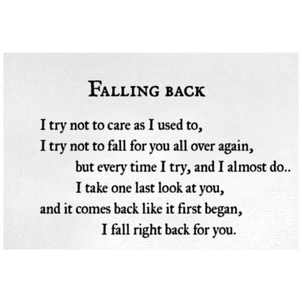 Quotes About Falling Back In Love 63 Quotes