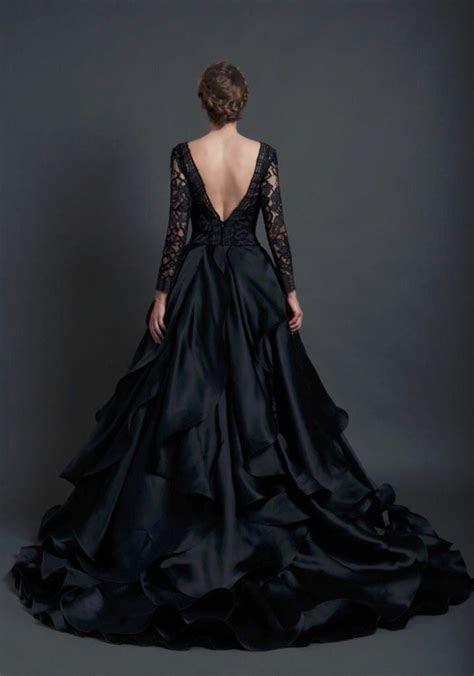 Best 25  Black wedding dresses ideas on Pinterest   Black