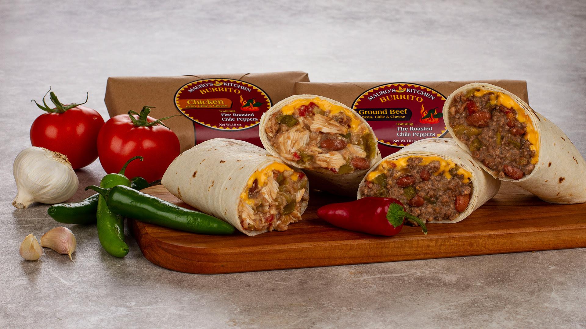 Frozen Mexican Breakfast Burritos   Frozen Mexican Food ...