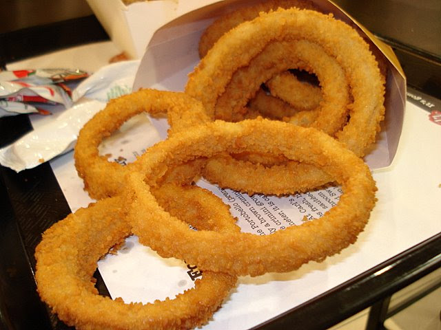 Carl's Jr Onion Rings