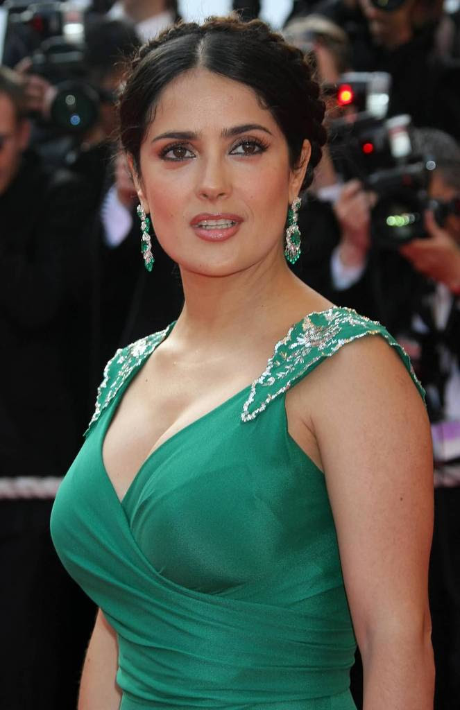 Salma Hayek Pictures - 2008 Cannes Film Festival - Sexy Actress Pictures | Hot Actress Pictures
