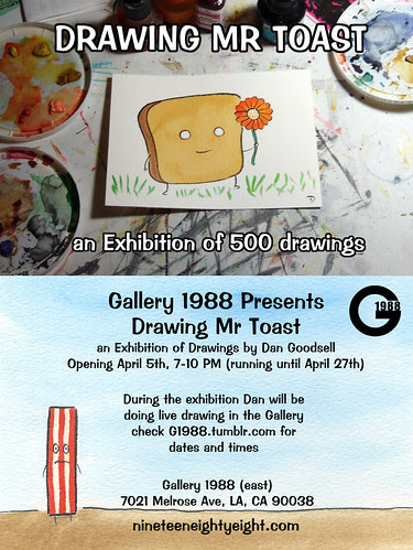 Drawing Mr Toast