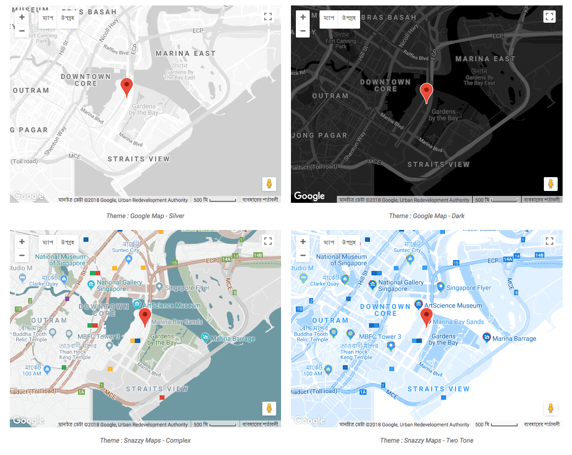 Advanced Google Map Essential Addons For Elementor
