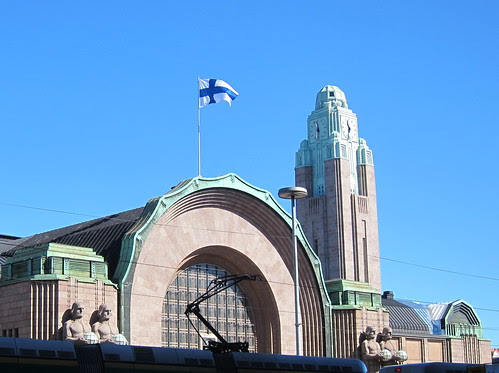 Helsinki Railway Station by Anna Amnell