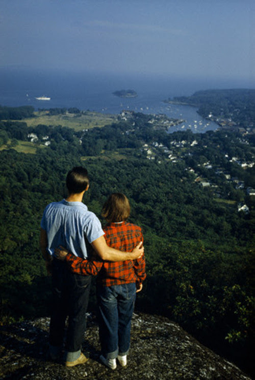 Mount Battie, Maine, 1952
