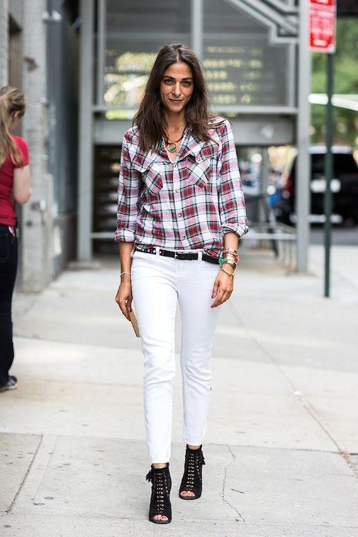 6 Le Fashion Blog 30 Fresh Ways To Wear White Jeans Plaid Shirt Boots Capucine Safyurtlu Via A Love Is Blind photo 6-Le-Fashion-Blog-30-Fresh-Ways-To-Wear-White-Jeans-Plaid-Shirt-Boots-Capucine-Safyurtlu-Via-A-Love-Is-Blind.jpg