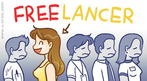 Sobre ser Freelancer, vida freelancer, como ser freelancer, dicas para freelancer by ila fox