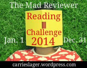 The Mad Reviewer Reading Challenge Button