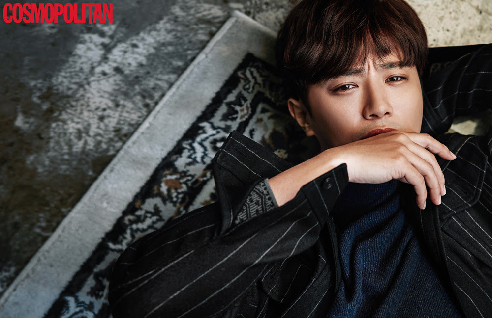 Jin Goo - Cosmopolitan Magazine November Issue '16