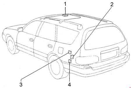 31 1994 Toyota Camry Fuse Box Diagram - Wire Diagram ...