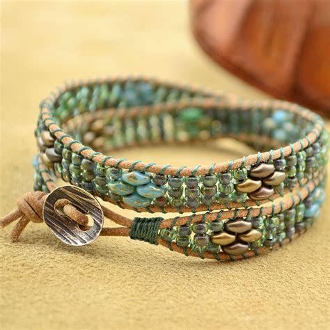 Seashore  Kelp ? bracelet tutorial with 3 other color
