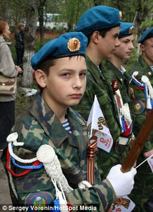Tough kid: Formed during the Soviet era, the club offers one program provided in The Young Paratrooper course which includes several military-technical disciplines