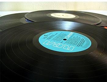 vinyl 33rpm gramaphone records.