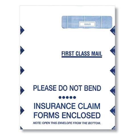 insurance claim envelope