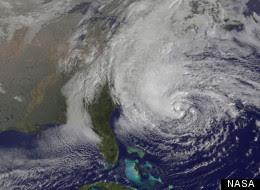 Hurricane Sandy Time Lapse Nasa