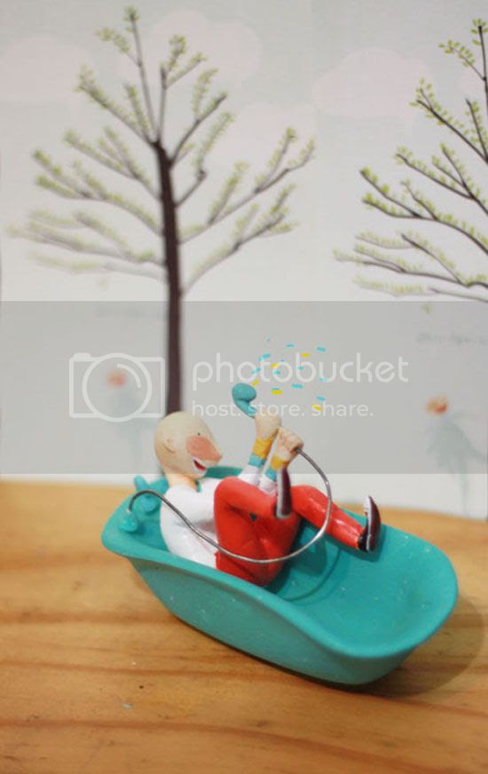 Handmade figurines by Lumao
