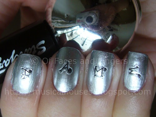 stargazer chrome 232 nailene nail stickers