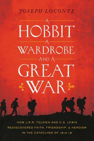loconte hobbit wardrobe great war tolkien lewis