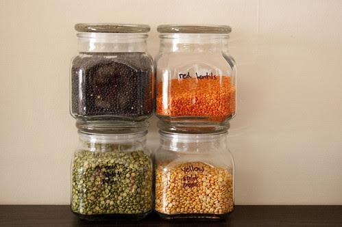 emma jars, lentils