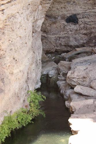 Montezuma's Well Outlet