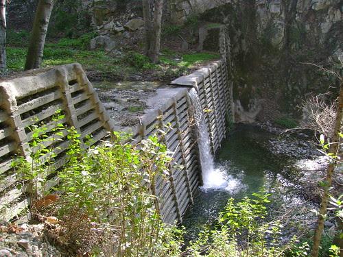 chantry flats winter creek trail