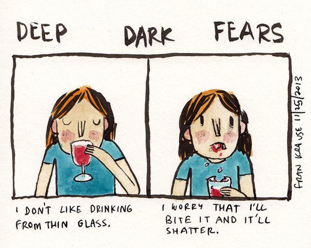 Your Darkest Fears as Creepy Comic Strips