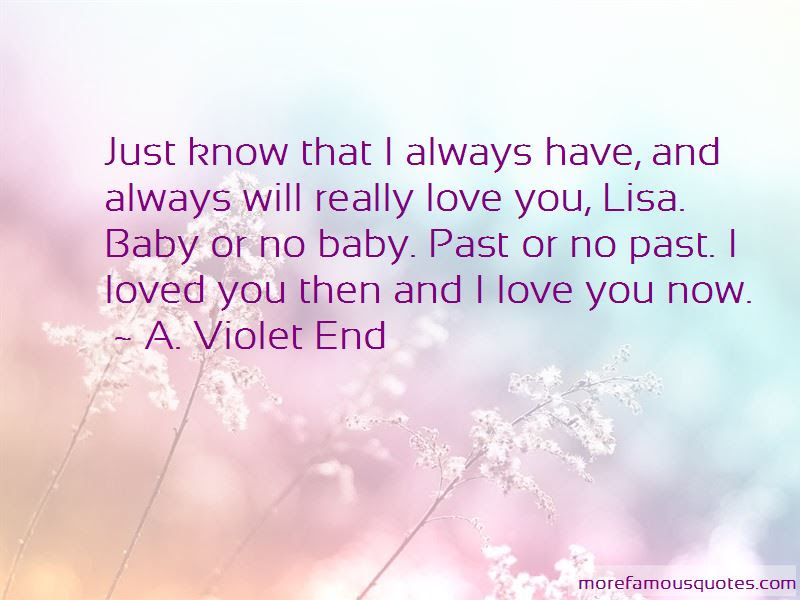 Baby I Will Always Love You Quotes Top 12 Quotes About Baby I Will