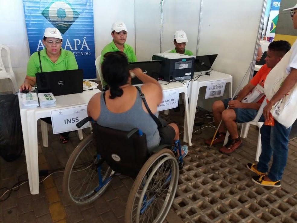 Ação ofereceu atendimentos que favorecem a qualificação profissional (Foto: Divulgação)