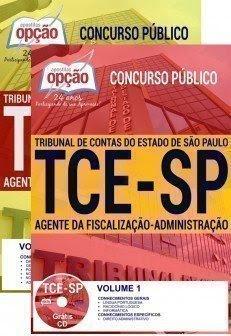 Apostila TCESP AGENTE DA FISCALIZAÇÃO-ADMINISTRAÇÃO