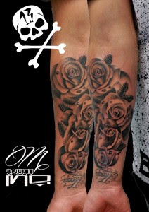 Tattoo Flores Brazo With Tattoo Flores Brazo Gallery Of