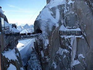 Jembatan Aiguille du Midi, Prancis