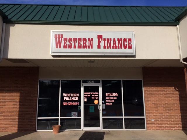 Western Finance Alexander City AL