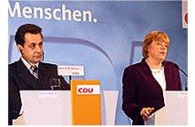 Monsieur Nicholas/Frau Merkel