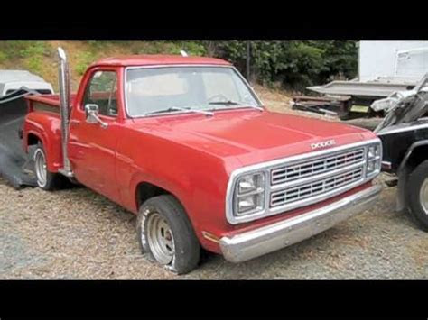 dodge warlock pickup  mopar muscle truck