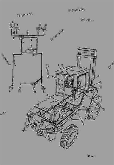 HARNESS - CONSTRUCTION JCB 930-4 - ROUGH TERRAIN FORKLIFT