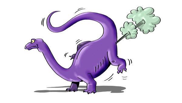 Did dinosaurs fart their way to extinction?