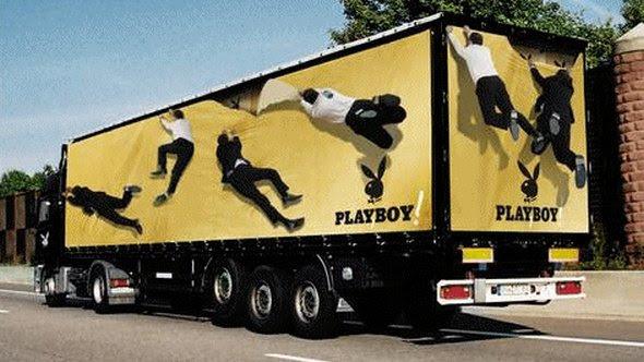 truck ad designs 09 in Funny 3D Truck Ad Designs