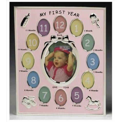 Baby Photo Frame My First Year Baby Girl Special Gifts4u