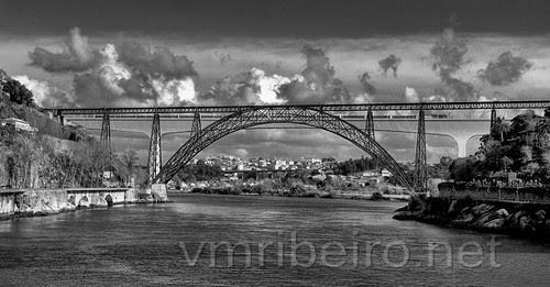 Ponte D. Maria e Ponte S. João (Porto) by VRfoto